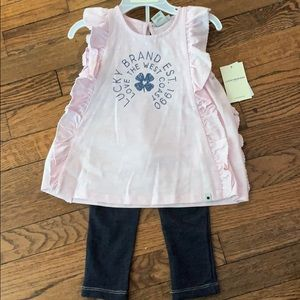 NWT Lucky Brand outfit